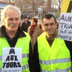 "Didier Hervo à la manifestation contre la ""tour Triangle"""