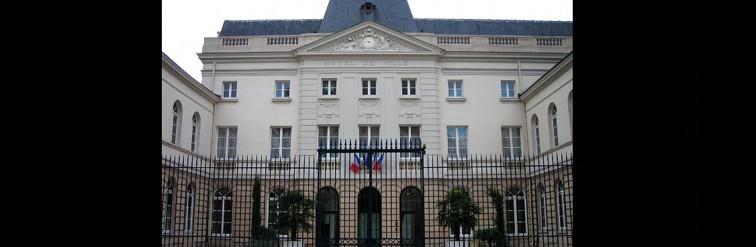 La mairie d'Issy-les-Moulineaux